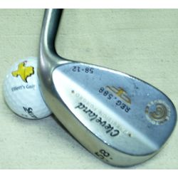W-Cleveland 588 Forged Satin 58* wedge