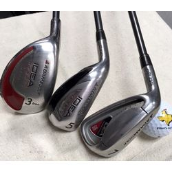 IL-Adams LH A2OS Combo Irons 4-PW