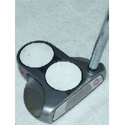 Odyssey White Steel 2 Ball Putter
